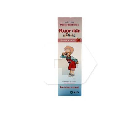 Fluor-Kin Infantil dentífrico fresa 50ml