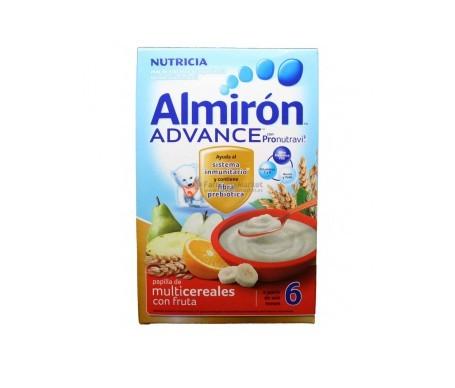 Almirón Advance multicereales y fruta 600g