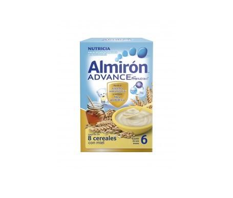 Almirón Advance 8 cereales y miel 600g