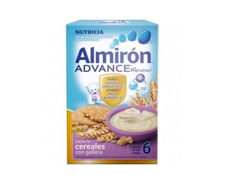 Almirón Advance 6 cereales con galleta 600g