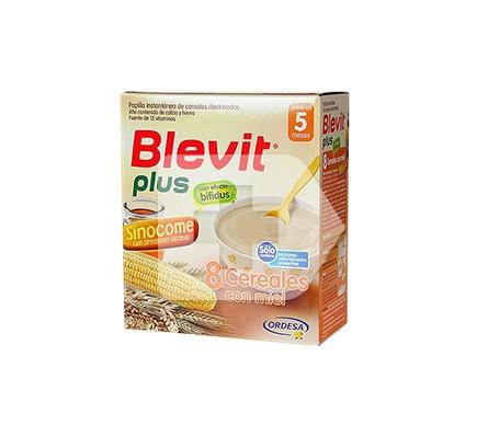 Blevit® plus 8 cereales con miel Sinocome 600g