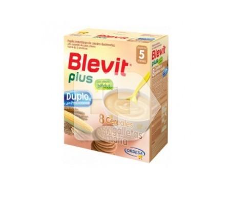 Blevit® plus 8 cereales y galleta María 600g