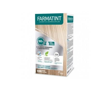 Farmatint 10N rubio platino 150ml