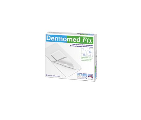 Dermomed fix 6 apósitos de 9x5 centímetros