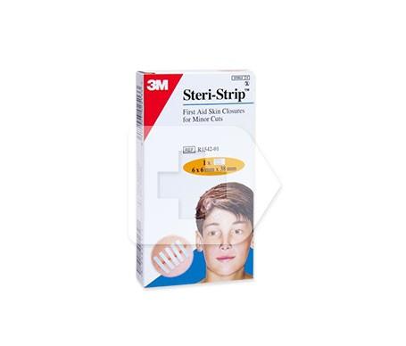 Steri Strip tiras de sutura cutánea 38mm x 6mm