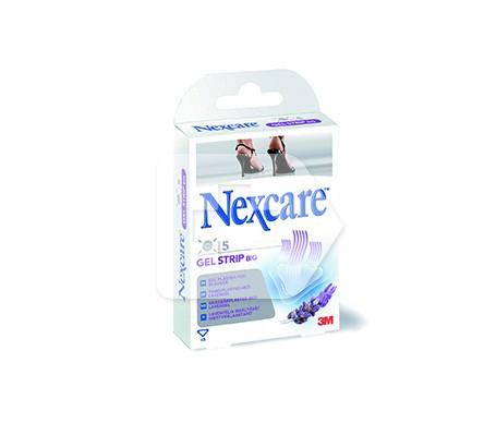 Nexcare Gel strips 5 apósitos grandes