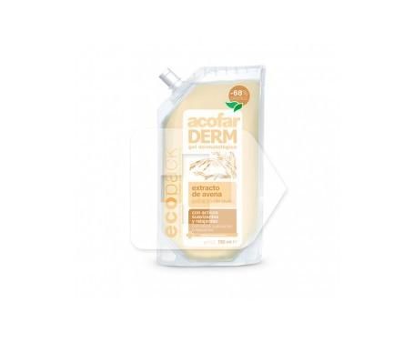 Acofarderm Ecopack gel extracto de avena 750ml