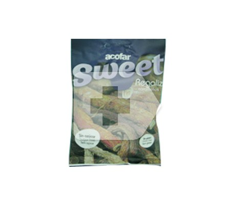 Acofar Sweet caramelos de regaliz sin azúcar 60g