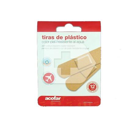 Adesivo plastico Acofar medicazione viaggio 12 strisce