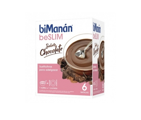 biManán® sustitutive natillas chocolate 5+1 sobres