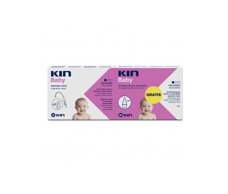 Kin Baby aspirador nasal + 10 recambios