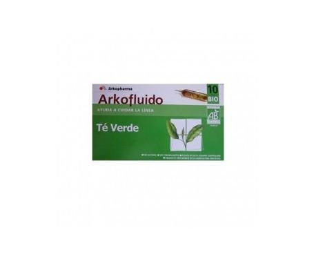 Arkofluido Té Verde 10amp bebibles