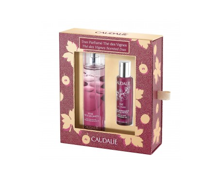 Caudalie The Des Vignes Scented Duo: Agua Refrescante 50ml Y Ace