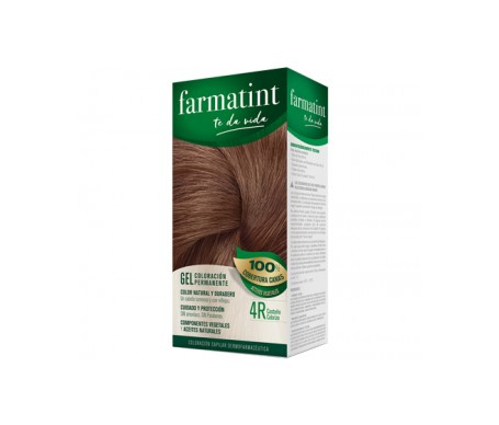 Farmatint 4R castaño cobrizo 155ml