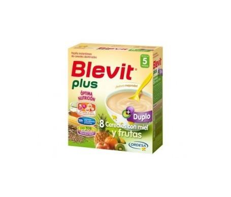 Blevit® plus 8 cereales con miel y frutas 600g