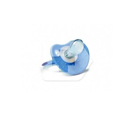 Chupete tetina silicona suavinex confort dentición T anatómica