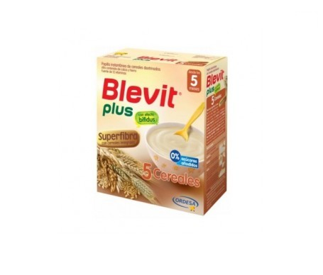 Blevit® plus superfibra papilla 5 cereales 300g