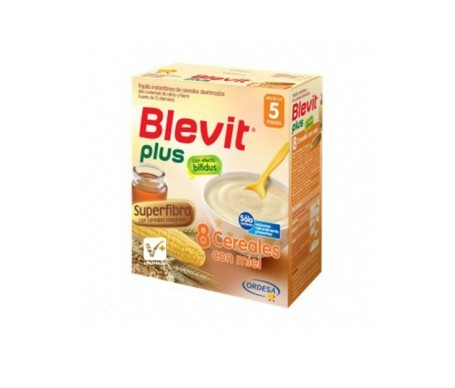 Blevit® plus superfibra 8 cereales y miel 300g