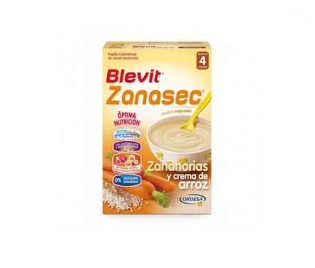 Blevit® Zanasec zanahorias crema de arroz 300g