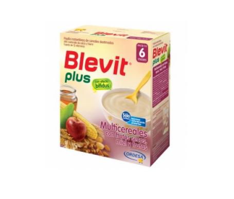 Blevit® plus miel frutos secos y frutas multicereales 300g