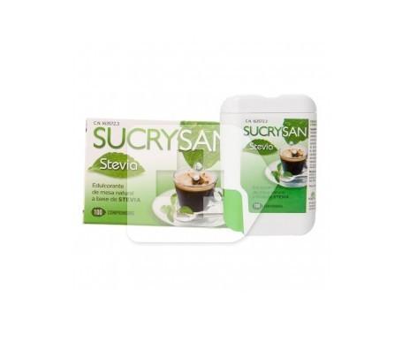 Sucrysan stevia aspartamo 100comp