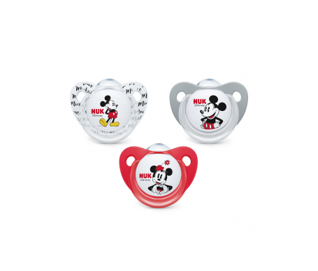 Nuk chupete Mickey Mouse silicona T1 1ud