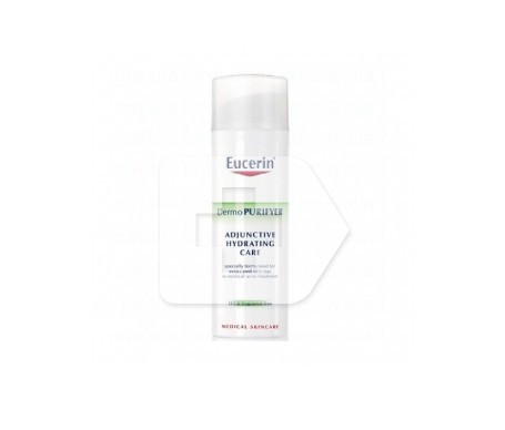 Eucerin DermoPurifyer cuidado hidratante coadyuvante SPF30+ 50ml