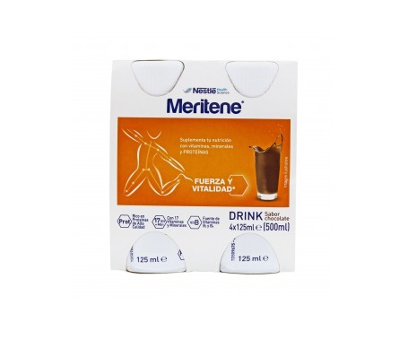 Meritene Drink chocolate 125mlX4botellas