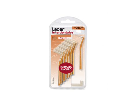 Lacer™ Brossettes interdentaires Angulaires Ultra Fines Souples 10 u.
