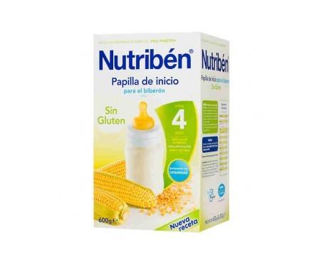 Nutribén® papilla inicio biberón sin gluten 600g