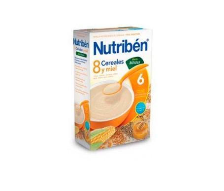 Nutribén® 8 cereales y miel efecto bífidus 300g