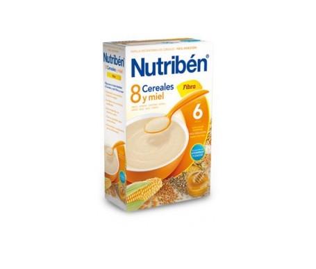 Nutribén® 8 cereales y miel fibra 300g