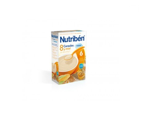 Nutribén® 8 cereales y miel frutos secos 300g