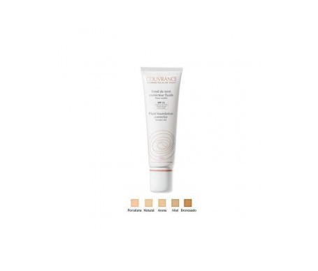 Avène Couvrance fondotinta correttore fluido make-up colore porcellana (1.0) 30ml