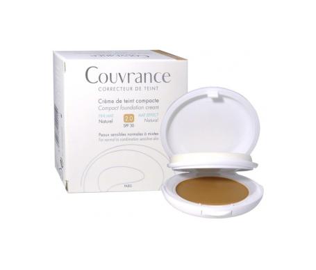 Avène Couvrance crema compacta oil free natural 9,5g