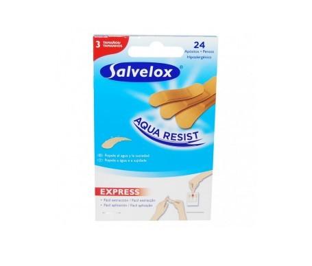 Salvelox Aqua Resist apósitos redondos 12uds