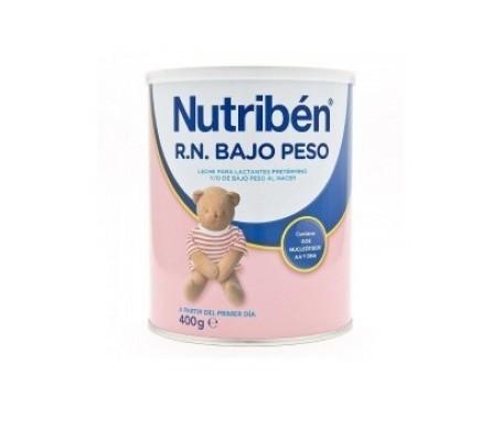 Nutribén® leche R.N. bajo peso 400g