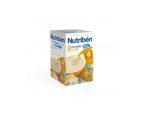 Nutribén® 8 cereales miel con leche Adaptada 600g
