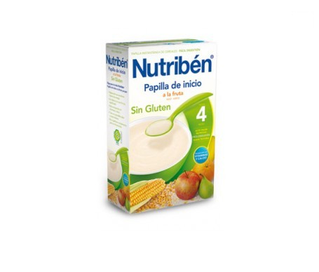 Nutribén® papilla inicio a la fruta sin gluten 300g