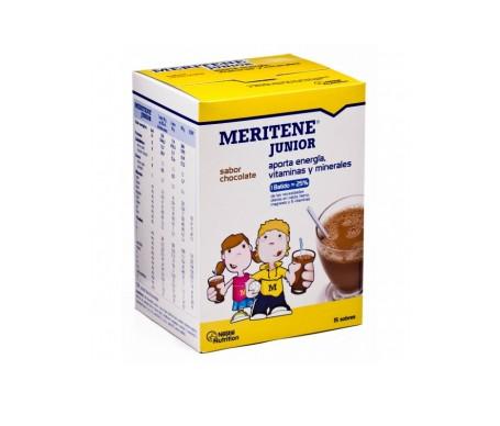 Meritene Junior batidos sabor chocolate 15 sobres