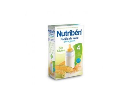 Nutribén® papilla inicio biberón sin gluten 300g