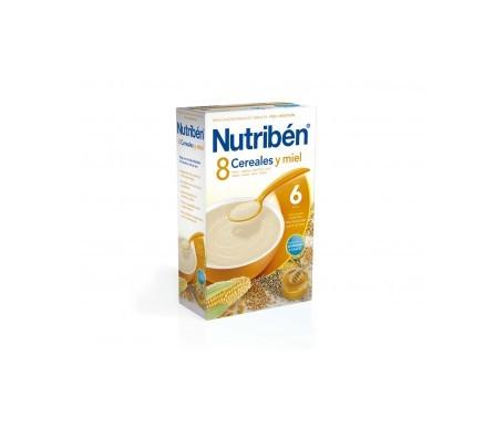 Nutribén® 8 cereales y miel 300g