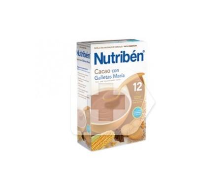 Nutribén® papilla cacao con galletas María 300g