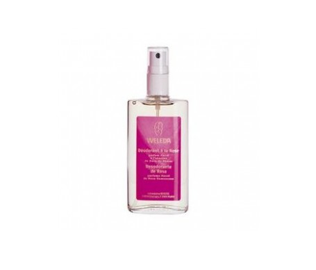 Weleda desodorante de rosa spray 100ml