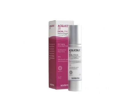 Sesderma Acglicolic 20 moisturising gel cream 50ml