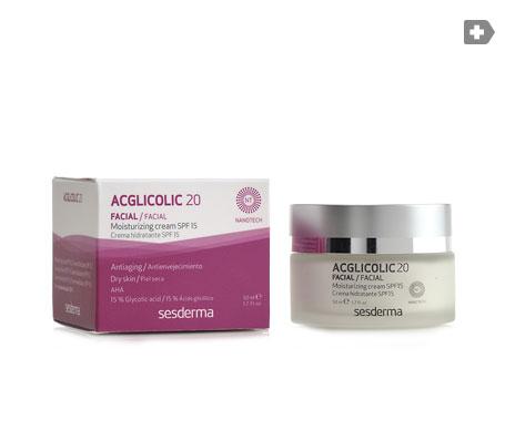 Sesderma Acglicolic 20 crema hidratante SPF15+ 50ml