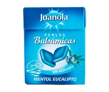 Juanola® perlas sabor mentol eucalipto 25g
