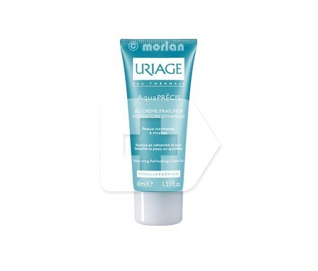 Uriage aquaprecis gel crema hidratante rostro piel normal mixta