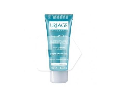 Crème hydratante Uriage aquaprecis gel hydratant pour la peau normale à mixte