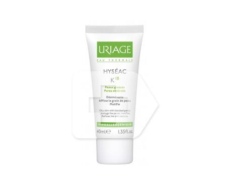 Uriage Hyseac K18 crema pieles grasas 40ml
